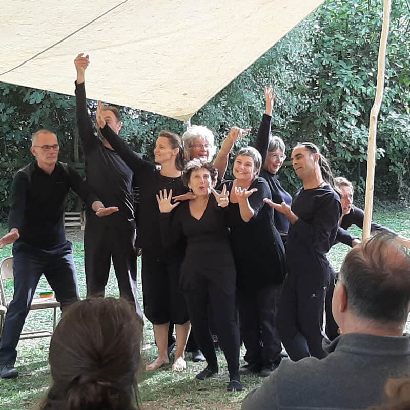 La troupe Magma